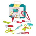 Battat – Deluxe Doctor Kit – Pretend Play Doctor Set for Kids 3 Years + (11-Pcs)