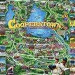 White Mountain Puzzles Cooperstown NY - 1000 Piece Jigsaw Puzzle