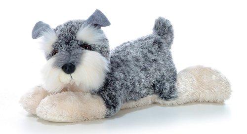 Aurora World Flopsie Plush Ludwig Schnauzer Dog, 12