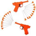 Tigerdoe Toy Guns for Kids – Dart Guns for Kids – Blaster Gun with Darts – (2 Pack) Kids Toys