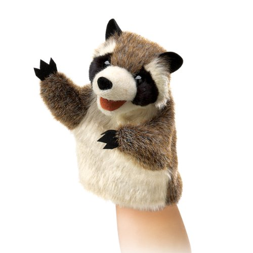 Folkmanis Little Raccoon Hand Puppet