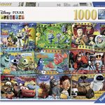 Ravensburger Disney Pixar Movies 1000 Piece Jigsaw Puzzle for Adults - Every piece is unique, Softclick technology Means Pieces Fit Together Perfectly