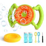 Bubble Machine for Kids CANI Durable Automatic Bubble Blower Machine Make Over 800 Colorful Bubbles Per Minute for Kids Christmas Birthday Party,Wedding Gift