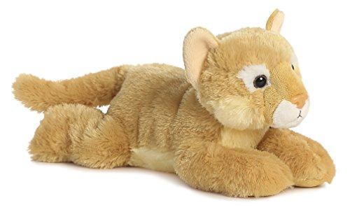 Aurora World Flopsie Animal Plush, Cougar