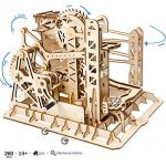 ROKR Mechanical Construction Model Kit - Lift Coaster - 3D Puzzle Building - Hobby Gift for Boys and Adults (Lift Coaster)