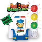 Red Light Green Light - Interactive, Motion Sensing Toy Includes 3 Unique Kids Games