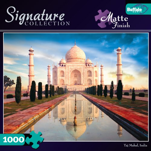 Signature Collection: Taj Mahal 1000pc Jigsaw Puzzle