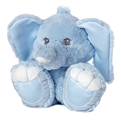 ebba Taddle Toes Baby Taddles Elephant Plush, Blue, 10