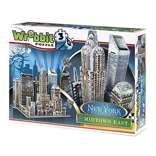 Wrebbit 3D Puzzle New York Collection Midtown East by Wrebbit 3D Puzzle