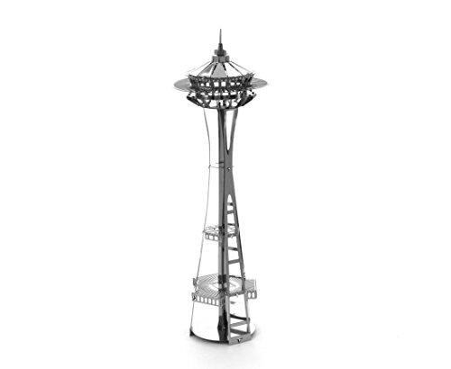 Fascinations Metal Earth Seattle Space Needle 3D Metal Model Kit