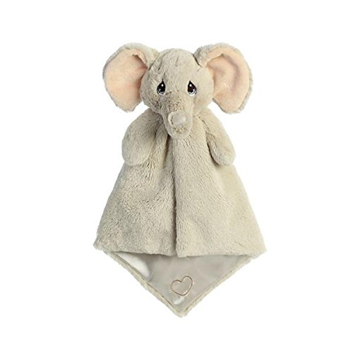 Aurora World Precious Moments Luvster Blanket Tuk Elephant Plush