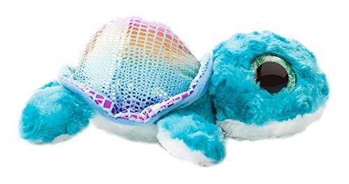 Aurora World Shellee The Turtle YooHoo and Friends Sealife Plush Toy (Small, Blue/Light Blue)