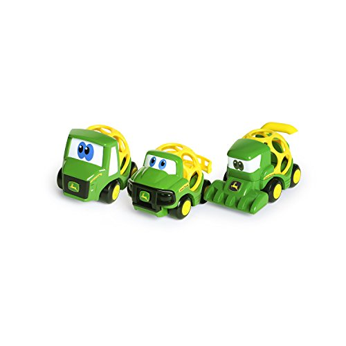 Oball Go Grippers John Deere Tough Ol' Trio Push Vehicle Set, Ages 12 months +