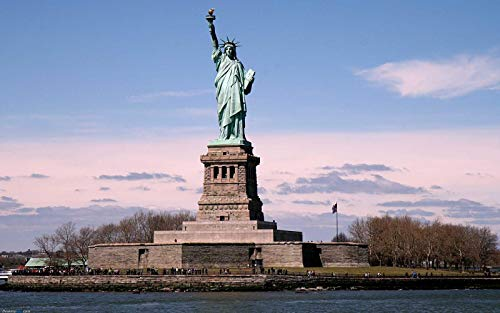 Jigsaw Puzzle - Majestic Statue of Liberty - 1000 Pieces Jigsaw Puzzle Intellectual Game for Adults and Kids