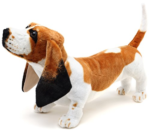 VIAHART Hubert The Basset Hound   Over 2 Foot Long Stuffed Animal Plush Dog   Shipping from Texas   by Tiger Tale Toys