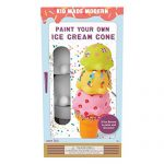 Kid Made Modern Paint Your Own Ice Cream Cone - DIY Toy Set for Kids