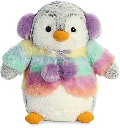 Aurora World Inc. Pompom Penguin Rainbow Lilac
