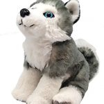 Wild Republic Husky Dog Plush, Stuffed Animal, Plush Toy, Gifts for Kids, Cuddlekins 8 Inches