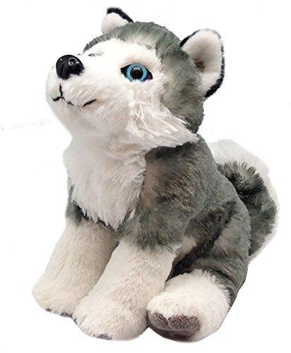 Wild Republic Husky Dog Plush, Stuffed Animal, Plush Toy, Gifts for Kids, Cuddlekins 8 Inches