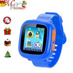 "ZOPPRI Kids Game Watch Smart Watch for Kids Children's Birthday Gift with 1.5 "" Touch Screen and 10 Games, Children's Watch Pedometer Clock Smart Watch Kids Toys Boys Girls Gift. (deep Bule)"