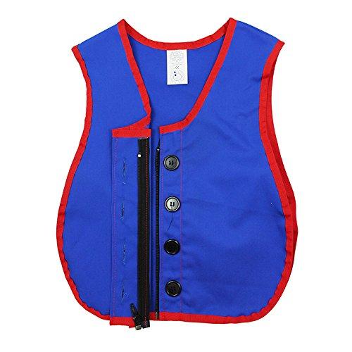 Children's Factory Manual Dexterity Vests; Button & Zipper Vest Children's Vest
