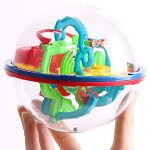 xxiaoTHAWxe 3D Maze Puzzle Labyrinth Magical Intellect Ball Kids Children Intelligence Toy
