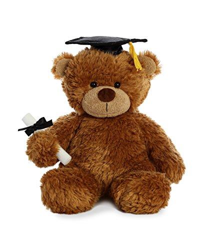 Aurora World Bonny Bear Stuffed Animal, Brown