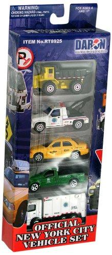 Daron New York City Official Vehicle Set, 5-Piece