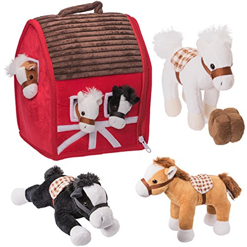 Prextex Plush Farm House with Soft and Cuddly 5