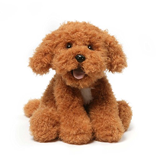 GUND Jewel Poppy Puppy Dog Stuffed Animal Plush, Brown, 10