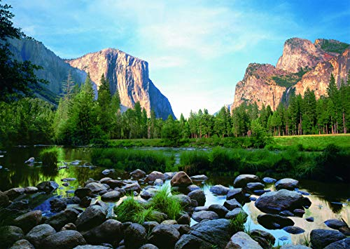 Ravensburger Yosemite Valley 1000 Piece Jigsaw Puzzle for Adults - Every Piece is Unique, Softclick Technology Means Pieces Fit Together Perfectly
