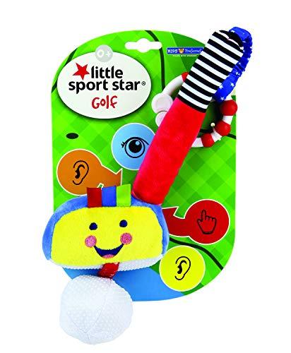 Kids Preferred Little Sport Star On The Go Plush Developmental Golf Club, 19.25