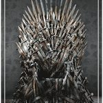 Dark Horse Deluxe Game of Thrones: Iron Throne Deluxe Puzzle (1000 Piece)
