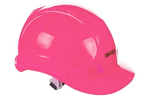 Child's Pink Hard Hat - Ages 2 to 6 - Kids Safety Construction Helmet or Costume