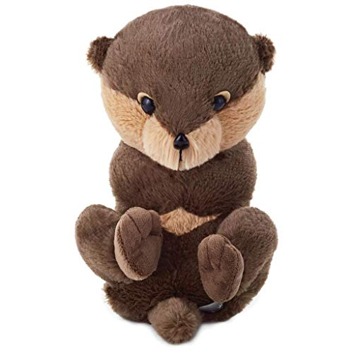 Hallmark Baby Otter Stuffed Animal, 9
