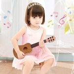 WEY&FLY Toy Guitar Toy for Kids Nylon-String Starter Classical Guitar for Beginner Children (Burlywood)