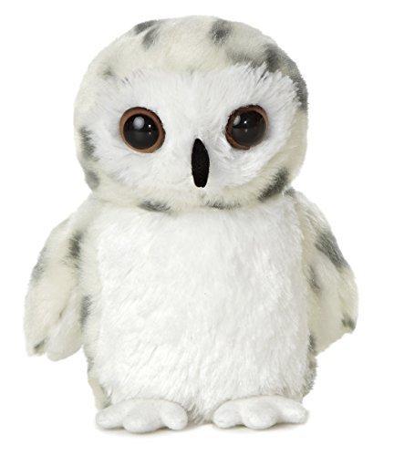 Aurora World Mini Flopsie Snowy Owl Plush Toy by Aurora
