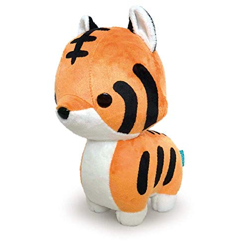 Bellzi Orange Tiger Cute Stuffed Animal Plush Toy - Adorable Soft Tiger Toy Plushies and Gifts - Perfect Present for Kids, Babies, Toddlers - Crouching Tiggri