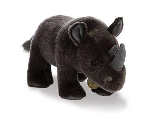 Aurora World Miyoni Plush Black Rhinoceros