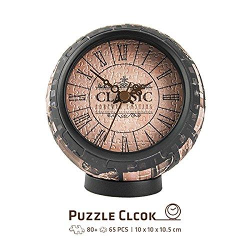 Pintoo - KC1006 - Forever Lasting - 145 Piece Plastic Clock Puzzle