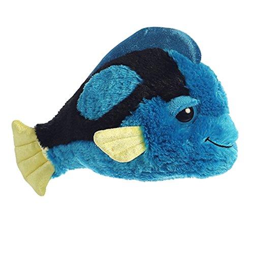 Aurora World Dreamy Eyes Tango Wango Fish Plush Toy (Blue/Black/Yellow)
