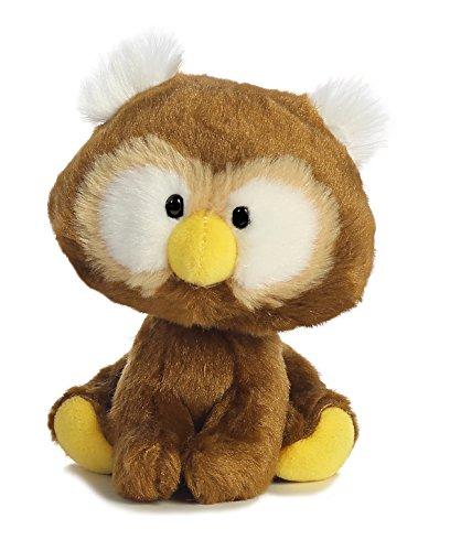 Aurora World Wobbly Bobblees Owl Plush Toy