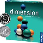 Dimension - A 3D Fast-Paced Puzzle Game from Kosmos | Up to 4 Players, for Fans of Strategy, Quick-Thinking & Logic | Parents' Choice Silver Honor & Oppenheim Toy Portfolio Platinum Award Winner