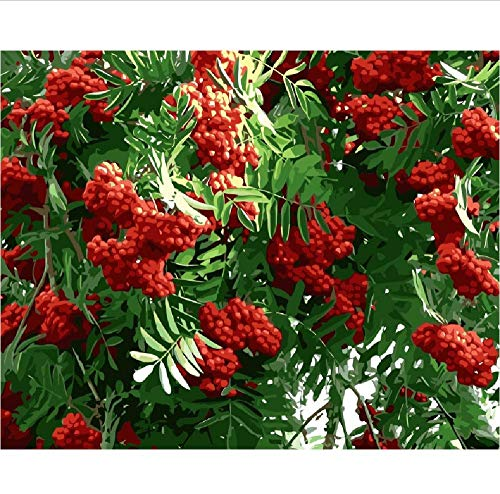 Jigsaw Puzzle 1000 Pieces Adult Puzzle Wooden Puzzle Classic 3D Puzzle Russia Red Rowan Brush DIY Educational Puzzle Christmas Home Decor Gift 75X50Cm