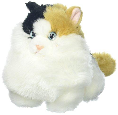 Aurora World Fat Cats Plush Toy Animal, Munchy Calico
