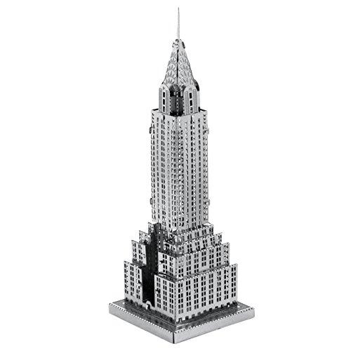 Fascinations Metal Earth Chrysler Building 3D Metal Model Kit