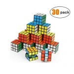 YCSHE 30 Pack Mini Cube, Party Puzzle Toy Gift for Children, Puzzle Game Set for Boys and Girls
