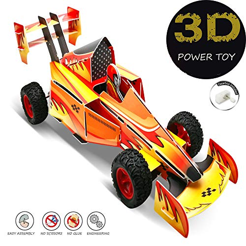 ANNDOFY 3D Puzzles for Kids, RC Car for Boys Engineering Toys, Stem Jigsaw Puzzles, Engineering Stem DIY Car Assembly Gift Toy for Girls, Kids Prizes