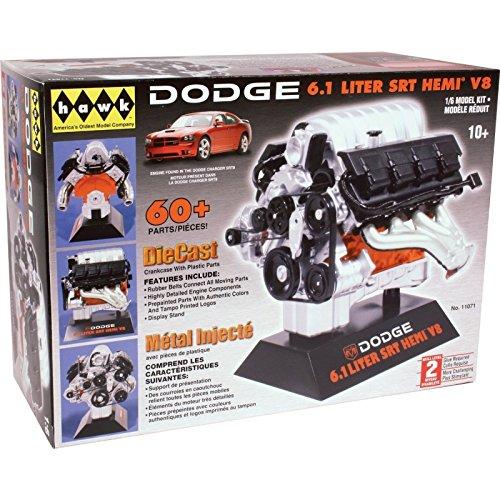 Hawk 1/6 scale Dodge SRT-8 diecast engine kit